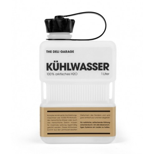 The Deli Garage K hlwasser The Deli Garage Produkt Product Artwork Design Coolant K hlwasser Rocket Wink Hamburg Germany Water Can Kanister New New Drink North White weiss