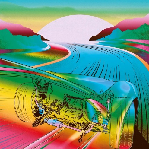 Porsche Christophorus Illustrationen rocket and wink porsche illustration